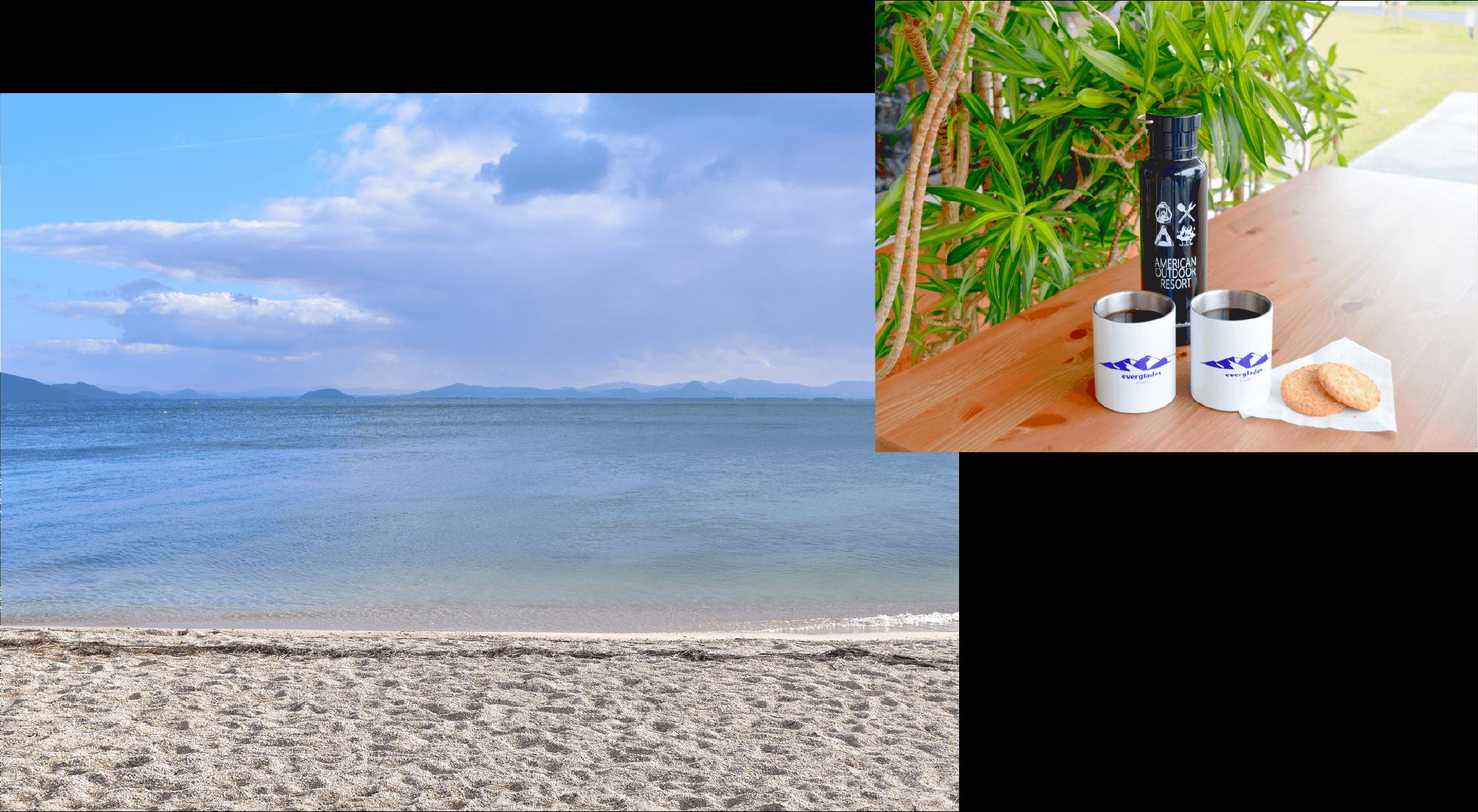 近江舞子ビーチ ピクニックセット