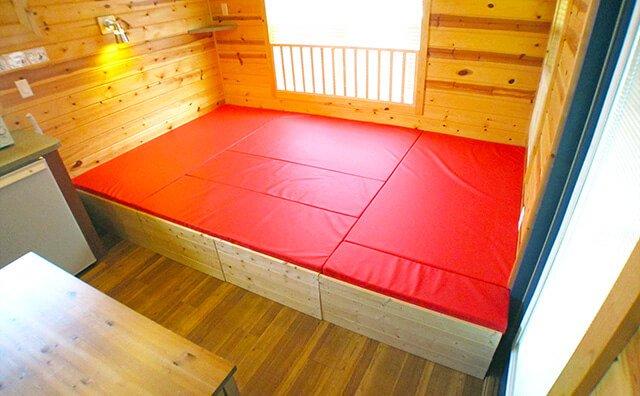 4人対応ソファーベッド(ベッドスタイル)