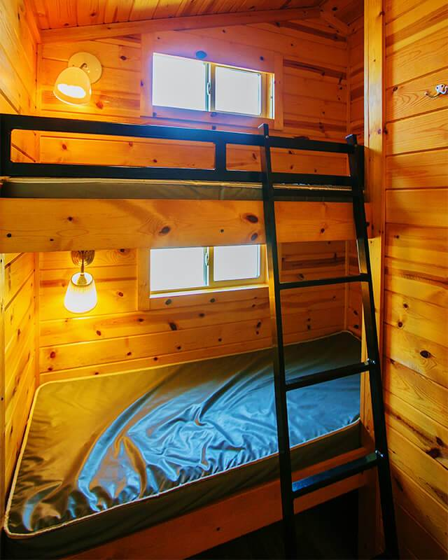シングルサイズ2段ベッド