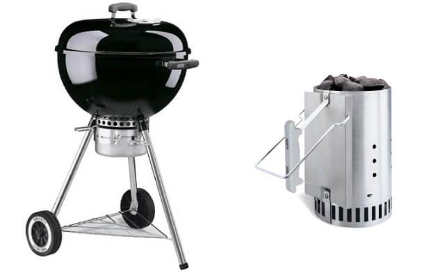 Weber社製 BBQグリル&チムニースターター